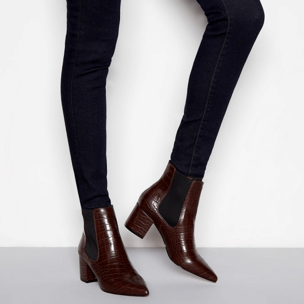 Knee High Ankle Boots from Faith