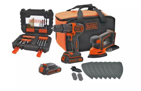 Black and Decker Cordless Hammer Drill - Argos