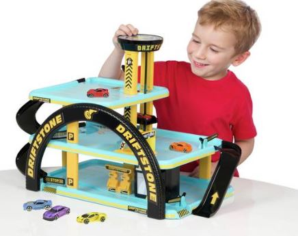 Driftzone Car Park Set - Argos Chad Valley Toys