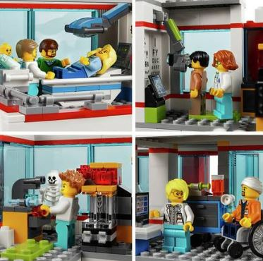 Lego City Hospital Set - Argos