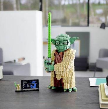 Lego Star Wars Yoda - Argos