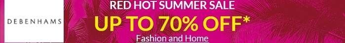 Debenhams Summer Sale Banner